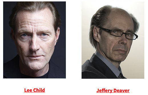 Lee Child and Jeffery Deaver