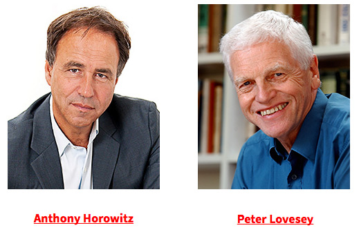 Anthony Horowitz and Peter Lovesey