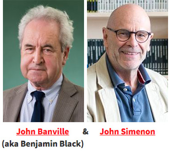 John Banville and John Simenon