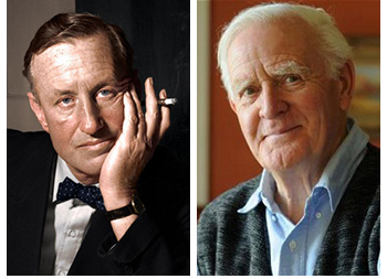 Ian Fleming and John Le Carre