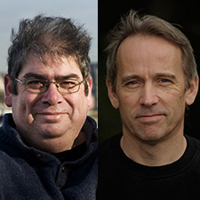 Ben Aaronovitch and Jasper Fforde