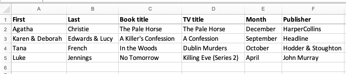 TV Drama submission guidelines